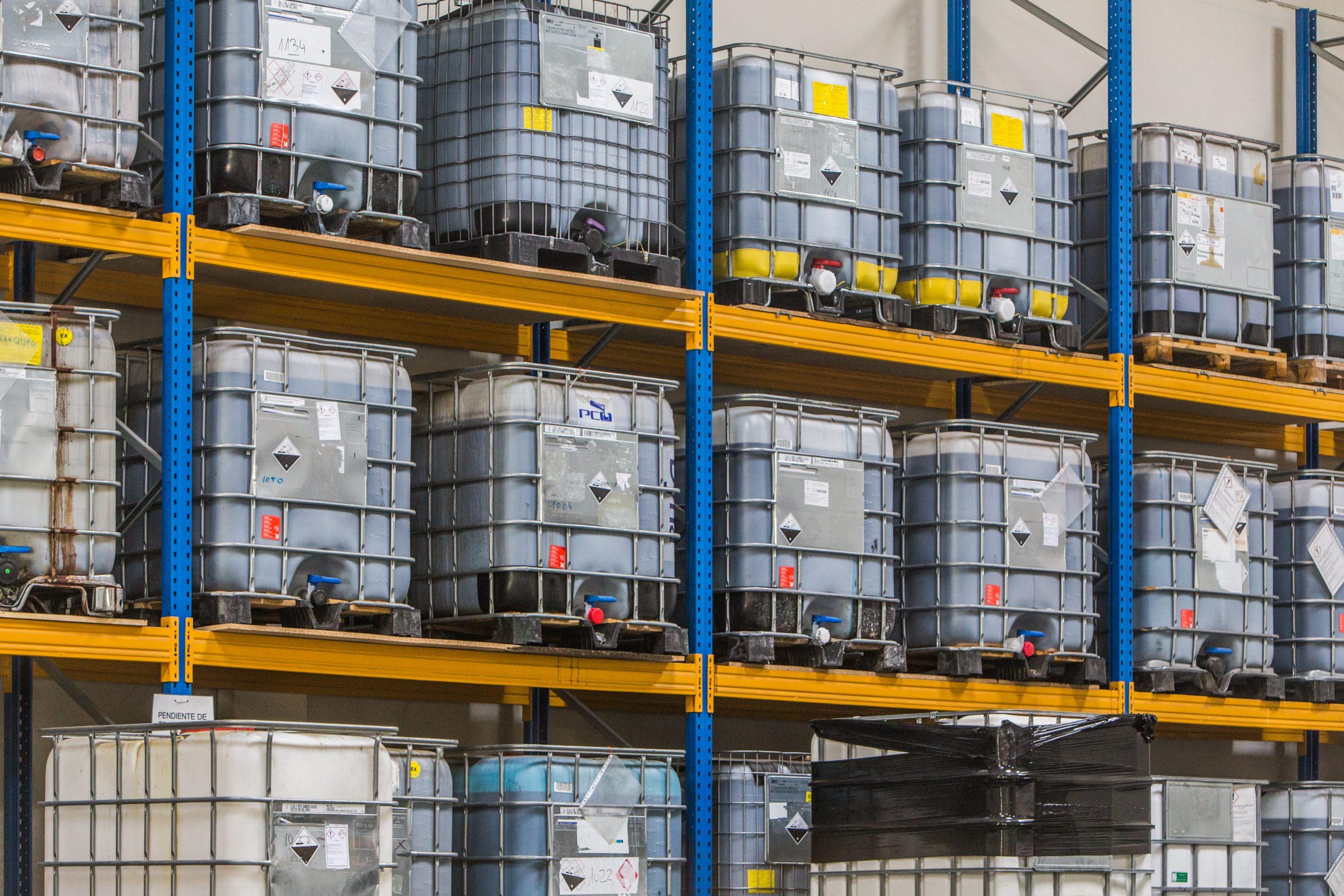 Almacen de residuos industriales